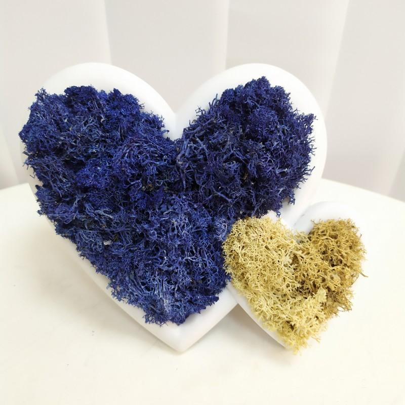 Эко-сердце blue